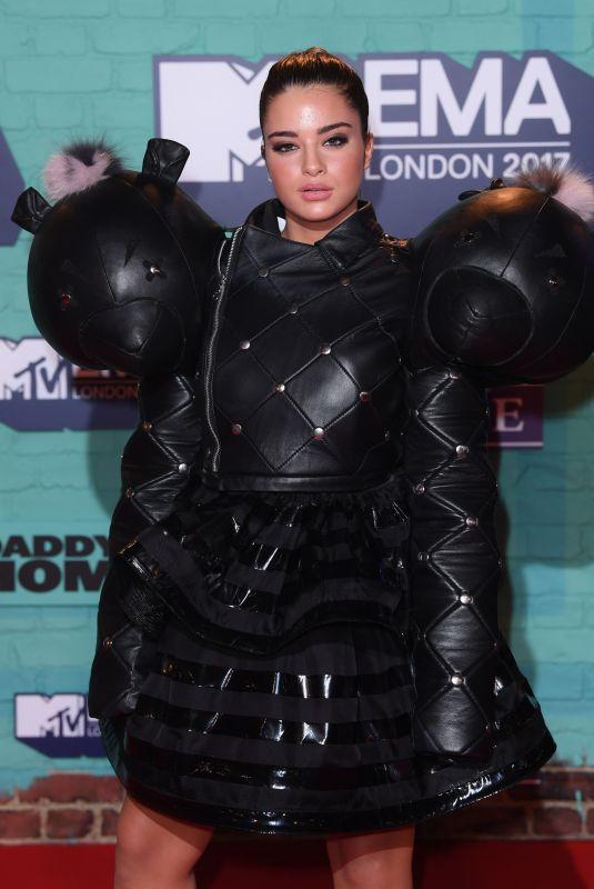 NOA KIREL at 2017 MTV Europe Music Awards in London 11/12/2017