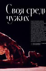 OLGA KURYLENKO in Instyle Magazine, Russia December 2017