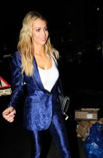 OLIVIA ATTWOOD at Restaurant Ours in London 11/14/2017