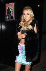 OLIVIA ATTWOOD Leaves In the Style Fashion Shoot in London 11/07/2017