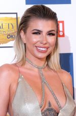 OLIVIA BUCKLAND at OK! Magazine Beauty Awards in London 11/28/2017