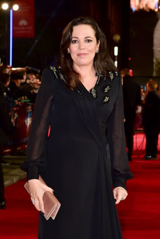 OLIVIA COLMAN at Murder on the Orient Express Premiere in London 11/02/2017