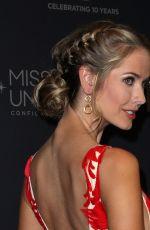 OLIVIA JORDAN at 2017 Miss Universe Pageant in Las Vegas 11/26/2017