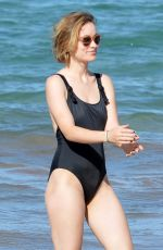 OLIVIA WILDE in Swimsuit at a Beach in Hawaii 11/19/2017