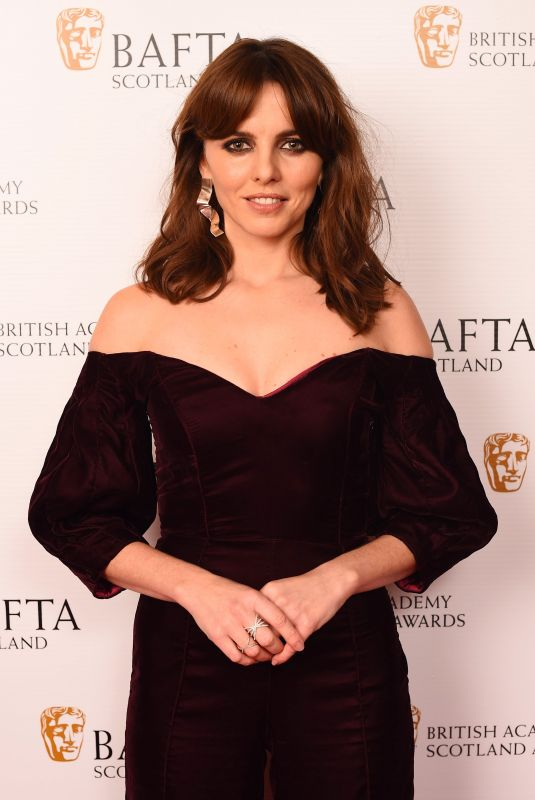 OPHELIA LOVIBOND at British Academy Scotland Awards in Glasgow 11/05/2017