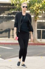 PAIGE BUTCHER Out Shopping in Los Angeles 11/17/2017