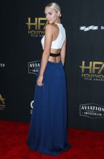 PAIGE MOBLEY at 2017 Hollywood Film Awards in Beverly Hills 11/05/2017