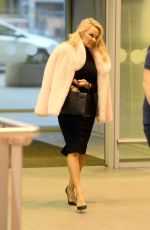 PAMELA ANDERSON at Chopin Airport in Warsaw 11/26/2017