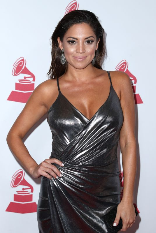 PAMELA SILVA CONDE at 2017 Latin Recording Academy Person of the Year Awards in Las Vegas 11/15/2017