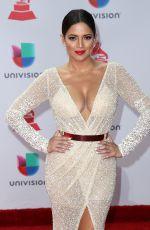 PAMELA SILVA CONDE at Latin Grammy Awards 2017 in Las Vegas 11/16/2017
