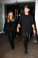 PARIS HILTON and Chris Zylka Out Shopping at Beverly Glen Circle 11/27/2017