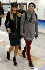 PARIS HILTON at Mexico City International Airport 11/05/2017