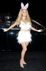 PARIS HILTON at Treats! Magazine 7th Annual Halloween Party in Los Angeles 10/31/2017