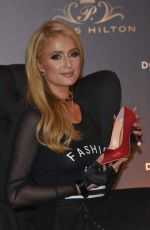 PARIS HILTON Promotes Her New Shoes Collection at Pabellon Polanco in Mexico City 11/07/2017