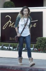 PARIS JACKSON Out and About in Beverly Hills 11/17/2017