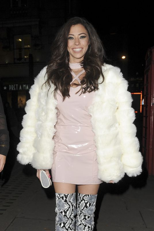 PASCAL CRAYMER at Cindy Kimberly x I Saw it First Event in London 11/08/2017