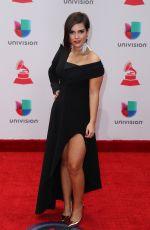 PAULA ARENAS at Latin Grammy Awards 2017 in Las Vegas 11/16/2017