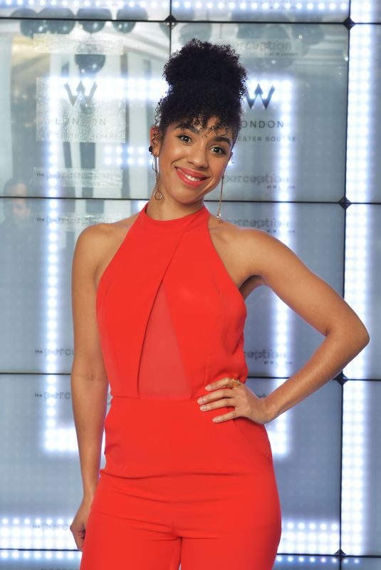 PEARL MACKIE at Launch of Perception at W in London 11/07/2017