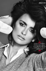 PENELOPE CRUZ in Red Magazine December 2017