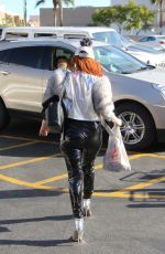 PHOEBE PRICE at Rite Aid in Beverly Hills 11/09/2017