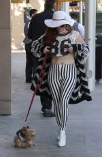 PHOEBE PRICE Out in Beverly Hills 11/03/2017