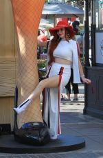 PHOEBE PRICE Shopping at The Grove in West Hollywood 11/24/2017