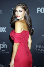 PIA ALONZO WURTZBACH at 2017 Miss Universe Pageant in Las Vegas 11/26/2017