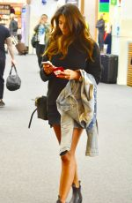 PIA MILLER at Airport in Melbourne 11/08/2017