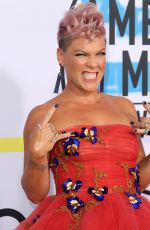 PINK at American Music Awards 2017 at Microsoft Theater in Los Angeles 11/19/2017
