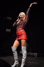 PIXIE LOTT at Xmas Switch On in Manchester 11/04/2017