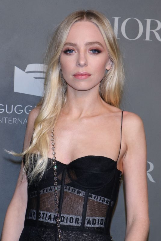 PORTIA DOUBLEDAY at 2017 Guggenheim International Gala Party in New York 11/15/2017