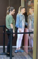 PORTIA DOUBLEDAY Out Shopping at The Grove in West Hollywood 11/21/2017