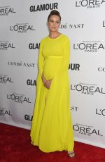 Pregnant CAMERON RUSSELL at Glamour Women of the Year Summit in New York 11/13/2017