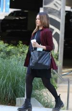 Pregnant JESSICA ALBA Arrives at a Business Meeting in Beverly Hills 11/28/2017