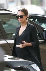 Pregnant JESSICA ALBA Leave Urth Caffe in Beverly Hills 11/16/2017