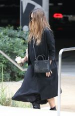 Pregnant JESSICA ALBA Leaves Urth Caffe in West Hollywood 11/162017