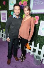 Pregnant LONDON ELISE KRESS at March of Dimes: Imagine a World Premiere at LA Live: Microsoft Square in Los Angeles 11/09/2017