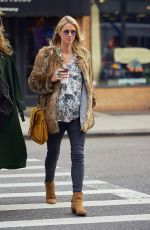 Pregnant NICKY HILTON Out and About in New York 11/14/2017