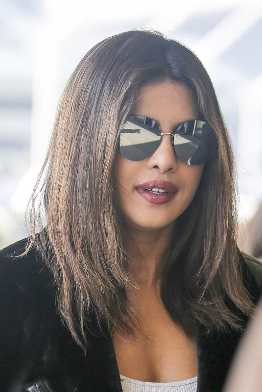 PRIYANKA CHOPRA at Los Angeles International Airport 11/27/2017