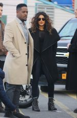 PRIYANKA CHOPRA on the Set of Quantico in Coney Island 11/20/2017