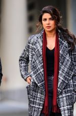 PRIYANKA CHOPRA on the Set of Quantico in New York 11/14/2017