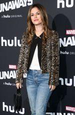 RACHEL BILSON at Runaways Premiere in Los Angeles 11/16/2017