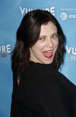 RACHEL BLOOM at Crazy Ex-girlfriend 100th Song Celebration Ssing-a-long at Vulture Festival in Los Angeles 11/19/2017