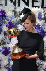 RACHEL GRIFFITHS at Derby Day in Melbourne 11/04/2017