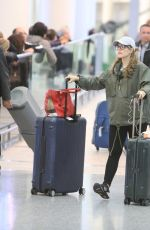 RACHEL MCADAMS at Pearson International Airport in Toronto 11/26/2017