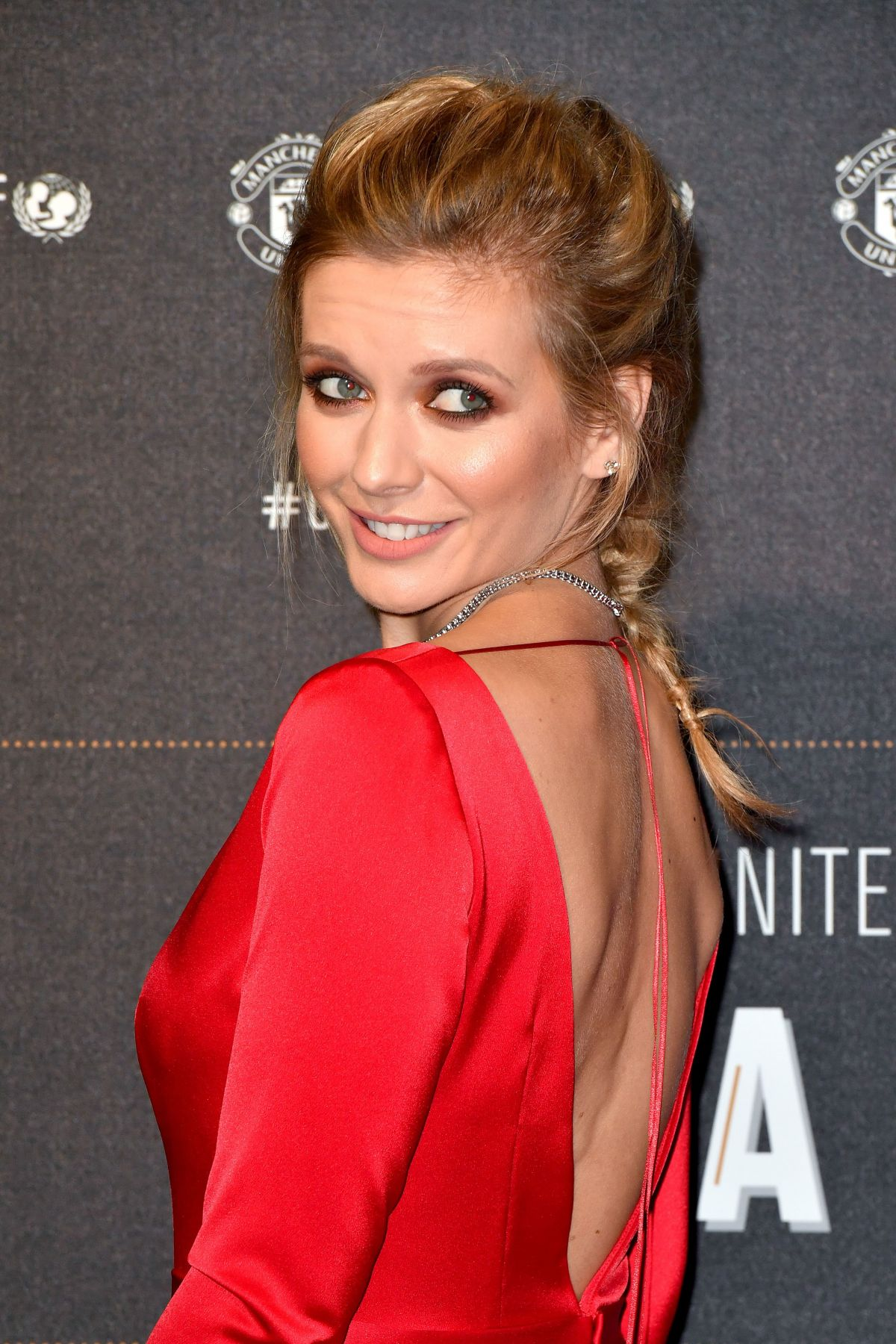 RACHEL RILEY at United for Unicef Gala in Manchester 11/15 ...