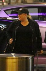 REBEL WILSON at Los Angeles Interntional Airport 11/25/2017