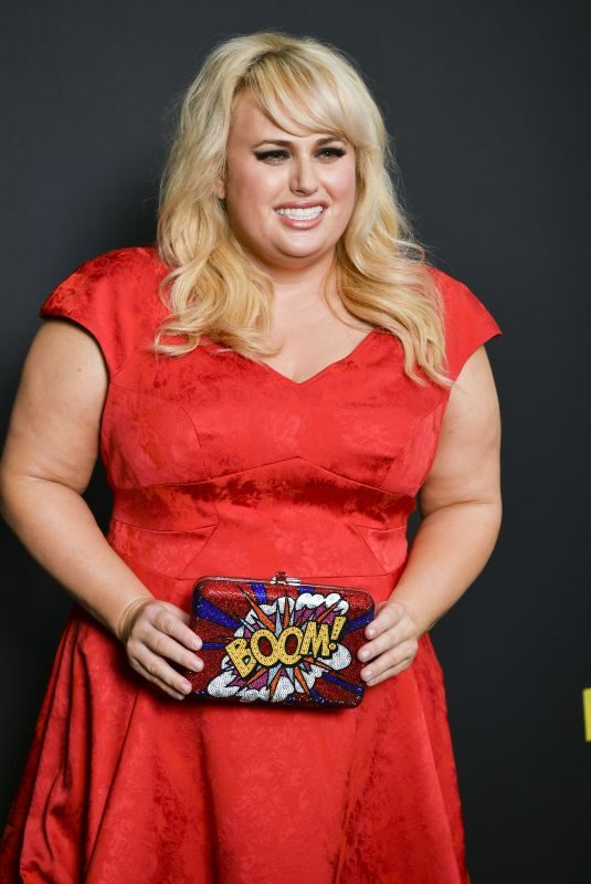 REBEL WILSON at Pitch Perfect 3 Premiere in Sydney 11/29/2017