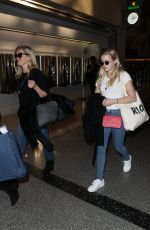 REESE WITHERSPOON and AVA PHILLIPPE at Charles De Gaulle Airport in Paris 11/22/2017