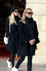 REESE WITHERSPOON and AVA PHILLIPPE Out and About in Paris 11/23/2017